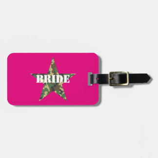 Etiqueta De Bagagem Tag cor-de-rosa da bagagem de Bachelorette da