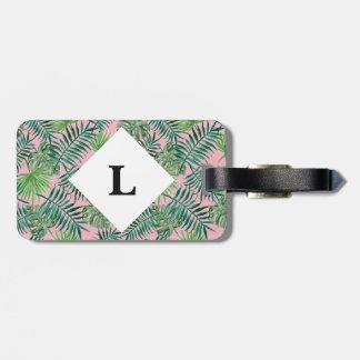 Etiqueta De Bagagem Tag cor-de-rosa personalizado da bagagem das