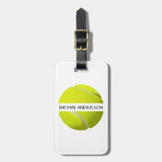 Etiqueta De Bagagem Tag da bagagem da bola de tênis