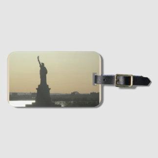 Etiqueta De Bagagem Tag da bagagem da estátua da liberdade de New York