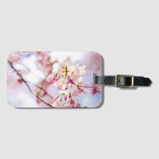 Etiqueta De Bagagem Tag da bagagem da flor de cerejeira