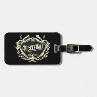 Etiqueta De Bagagem Tag da bagagem da identificação de Pickleball