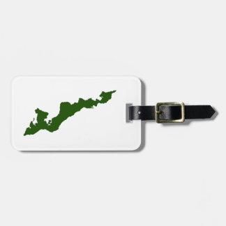 Etiqueta De Bagagem Tag da bagagem da ilha dos Fishers - ilha dos