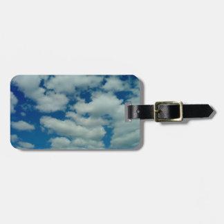 Etiqueta De Bagagem Tag da bagagem da nuvem