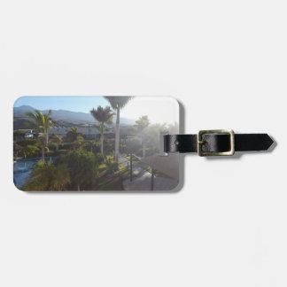 Etiqueta De Bagagem Tag da bagagem da paisagem de Tenerife