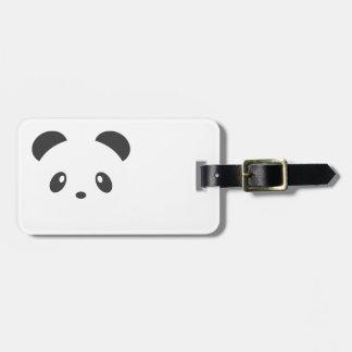 Etiqueta De Bagagem Tag da bagagem da panda