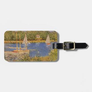 Etiqueta De Bagagem Tag da bagagem da pintura de Monet
