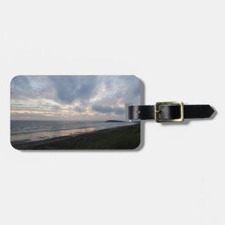Etiqueta De Bagagem Tag da bagagem da praia da península de Gower