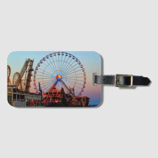 Etiqueta De Bagagem Tag da bagagem da roda de Ferris