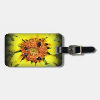 Etiqueta De Bagagem Tag da bagagem de abelha ocupada com correia de
