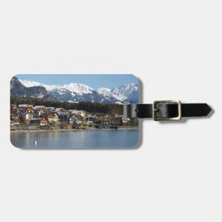 Etiqueta De Bagagem Tag da bagagem de Brienz do lago