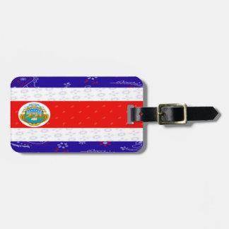 Etiqueta De Bagagem Tag da bagagem de Costa Rica