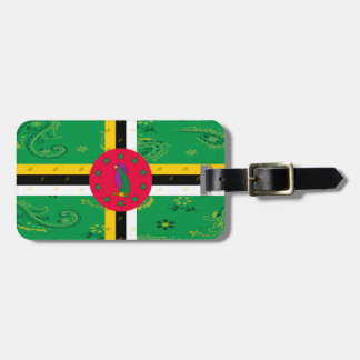 Etiqueta De Bagagem Tag da bagagem de Dominica