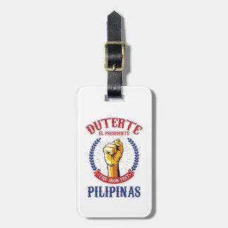 Etiqueta De Bagagem Tag da bagagem de Duterte