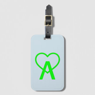 Etiqueta De Bagagem Tag da bagagem de E&L A~Heart