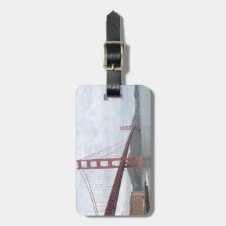 Etiqueta De Bagagem Tag da bagagem de golden gate bridge