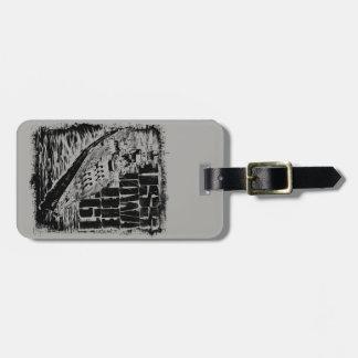 Etiqueta De Bagagem Tag da bagagem de Iowa da navio de guerra