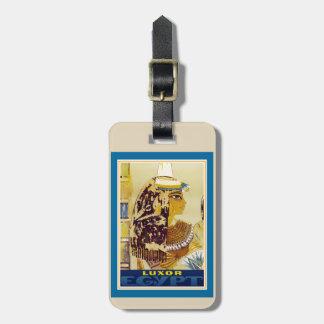 Etiqueta De Bagagem Tag da bagagem de Luxor