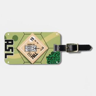 Etiqueta De Bagagem Tag da bagagem de M10 Achilles