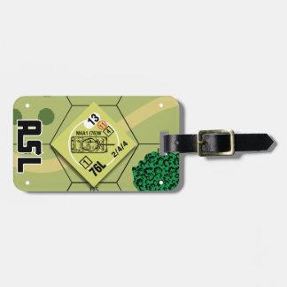 Etiqueta De Bagagem Tag da bagagem de M4A1 (76) W
