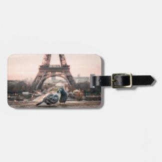 Etiqueta De Bagagem Tag da bagagem de Paris, France