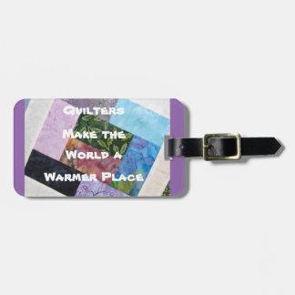 Etiqueta De Bagagem Tag da bagagem de Quilters