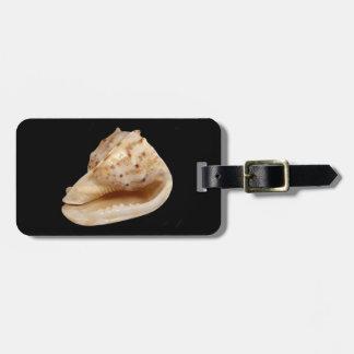Etiqueta De Bagagem Tag da bagagem de Shell do Conch