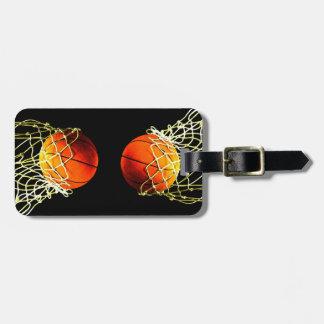 Etiqueta De Bagagem Tag da bagagem do basquetebol