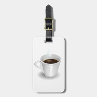 Etiqueta De Bagagem Tag da bagagem do café