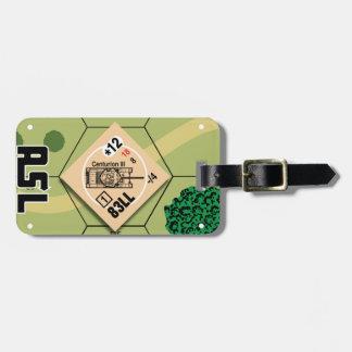 Etiqueta De Bagagem Tag da bagagem do Centurion III