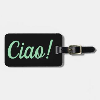 Etiqueta De Bagagem Tag da bagagem do Ciao