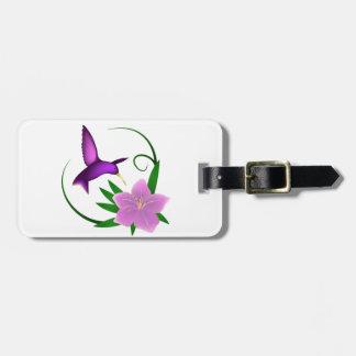 Etiqueta De Bagagem Tag da bagagem do colibri