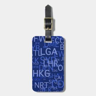 Etiqueta De Bagagem Tag da bagagem do insecto freqüente