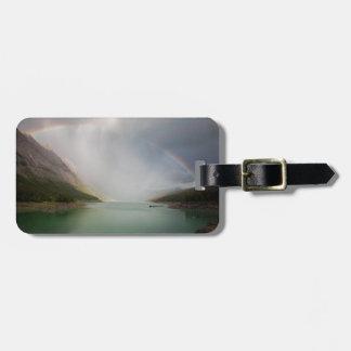 Etiqueta De Bagagem Tag da bagagem do lago canada