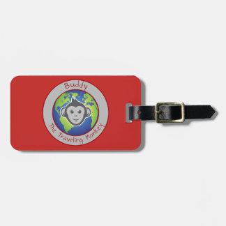 Etiqueta De Bagagem Tag da bagagem do logotipo do amigo