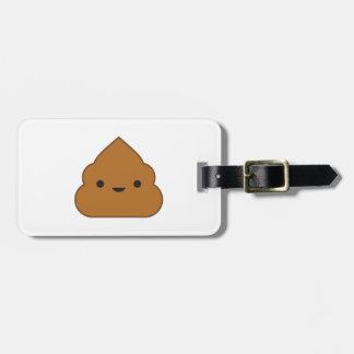 Etiqueta De Bagagem Tag da bagagem do tombadilho de Kawaii