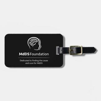 Etiqueta De Bagagem Tag da bagagem do viagem da consciência de MdDS