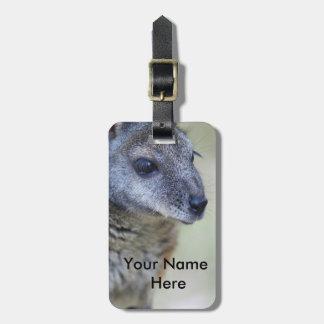 Etiqueta De Bagagem Tag da bagagem do Wallaby