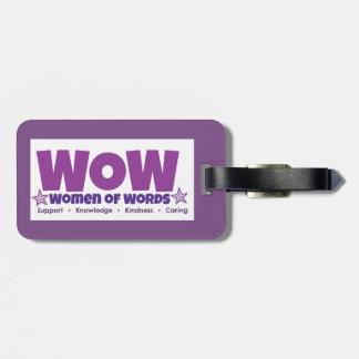 Etiqueta De Bagagem Tag da bagagem do wow