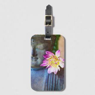 Etiqueta De Bagagem Tag da bagagem do zen com ou sem o entalhe de