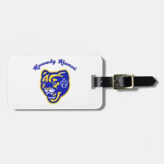 Etiqueta De Bagagem Tag da bagagem dos alunos dos pumas de Kennedy