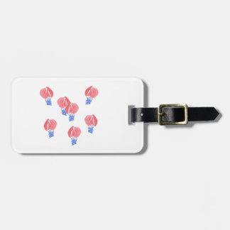 Etiqueta De Bagagem Tag da bagagem dos balões de ar