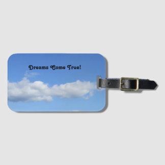 Etiqueta De Bagagem Tag da bagagem dos sonhos