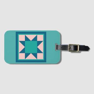 Etiqueta De Bagagem Tag da bagagem - estrela do Sawtooth (cerceta)