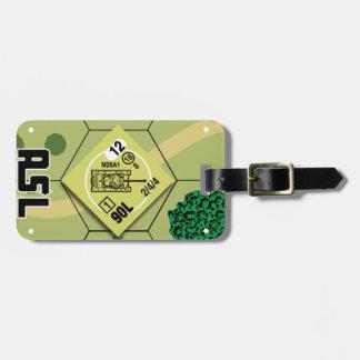 Etiqueta De Bagagem Tag da bagagem M26A1