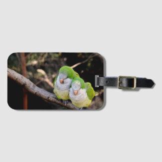 Etiqueta De Bagagem Tag da bagagem para amantes dos pássaros ou dos
