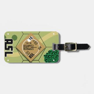 Etiqueta De Bagagem Tag da bagagem T-34/85