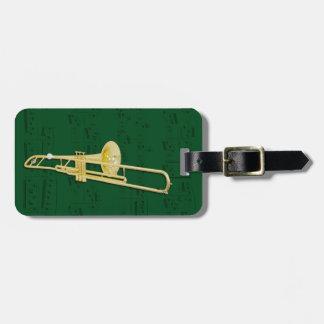 Etiqueta De Bagagem Tag da bagagem - Trombone (válvula) - escolha a
