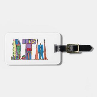 Etiqueta De Bagagem Tag | DETROIT da bagagem, MI (DTW)