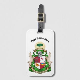 Etiqueta De Bagagem Tag do saco da bagagem/livro da brasão do St. Luis